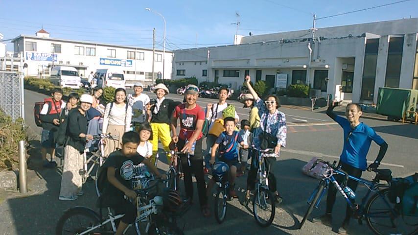 地球6周・130ヵ国以上を自転車旅した☆松本英揮さんと自転車旅&お話会